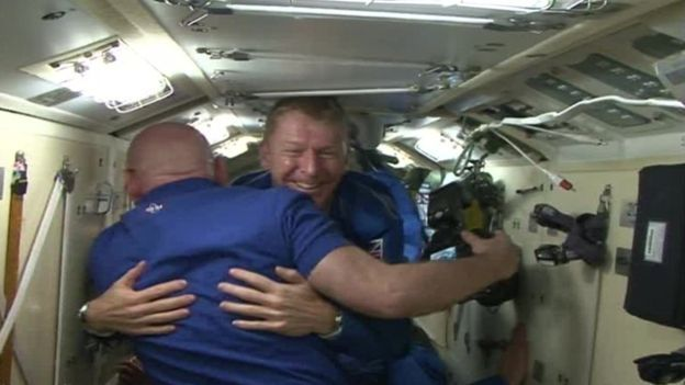Tim Peake enters International Space Station