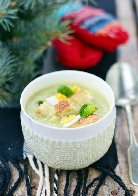 brussels sprouts soup.5 by Zoryanchik, via Flickr