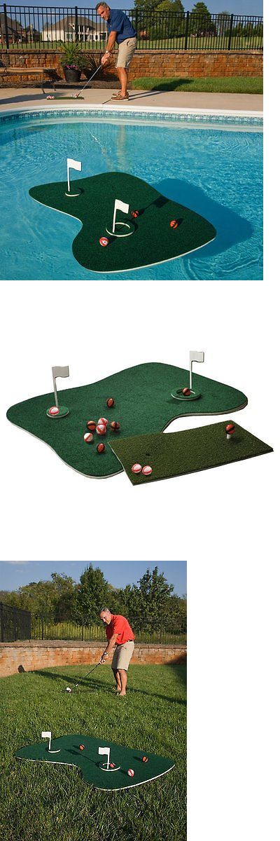 Putting Greens and Aids 36234: Floating Putting Green Golf Trainer Swimming Pool Backyard Home Patio Party Game -> BUY IT NOW ONLY: $48.98 on eBay!