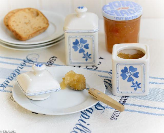 Silja, Food & Paris: Mahe õunatükkidega moos vürtsika jäätee juurde