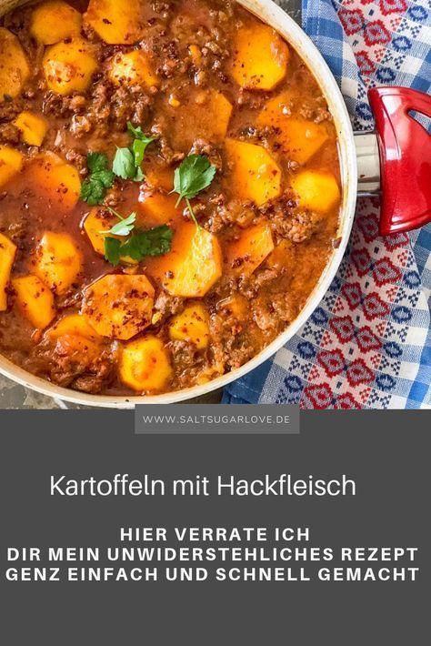 Kartoffeln mit Hackfleisch