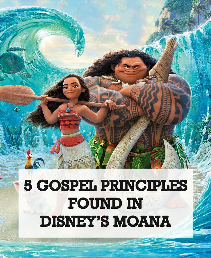 5 gospel principles found in disneys moana moana movie