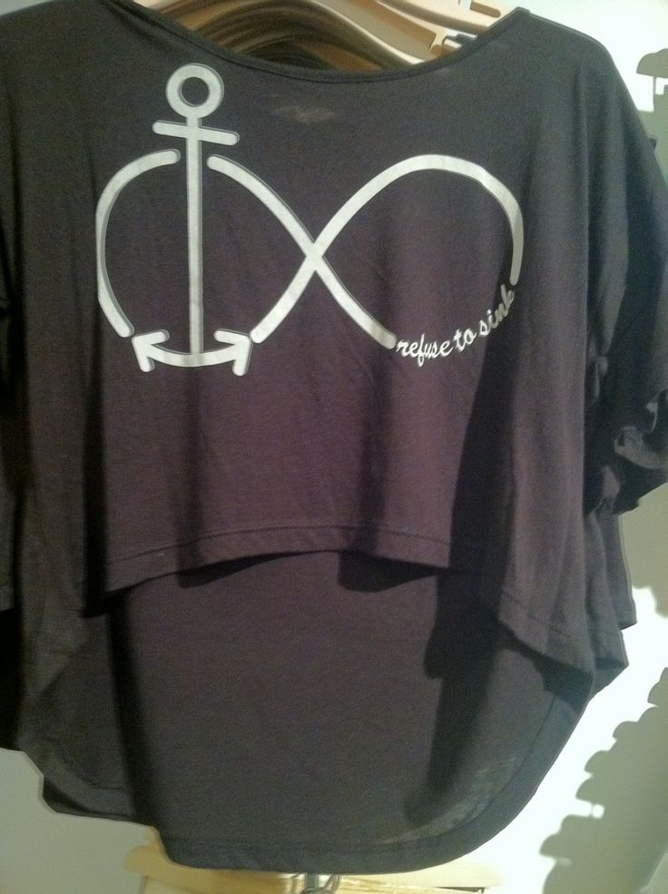 Anchor infinity shirt from forever 21   shirts   Pinterest ...
