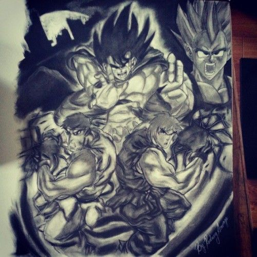 25 best images about dragon ball z tattoos on pinterest