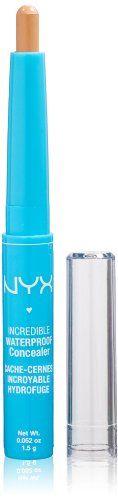 NYX Incredible Waterproof Concealer, Medium, 0.052 Ounce NYX http://www.amazon.com/dp/B002QIADS8/ref=cm_sw_r_pi_dp_BCiQtb1MS4EV1MWR
