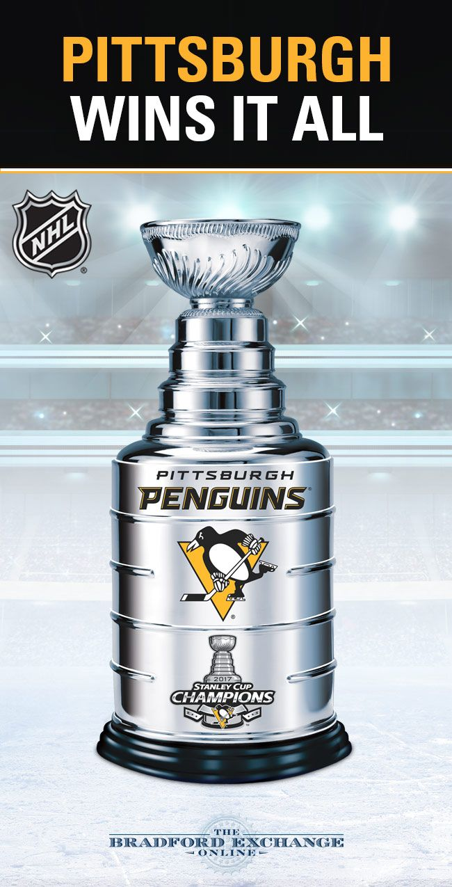 Honor the best in the NHL! Bring home this officially-licensed Stanley Cup trophy sculpture and commemorate the Pittsburgh Penguins 2017 victory for years to come. Hurry as only 5,000 will ever be made!