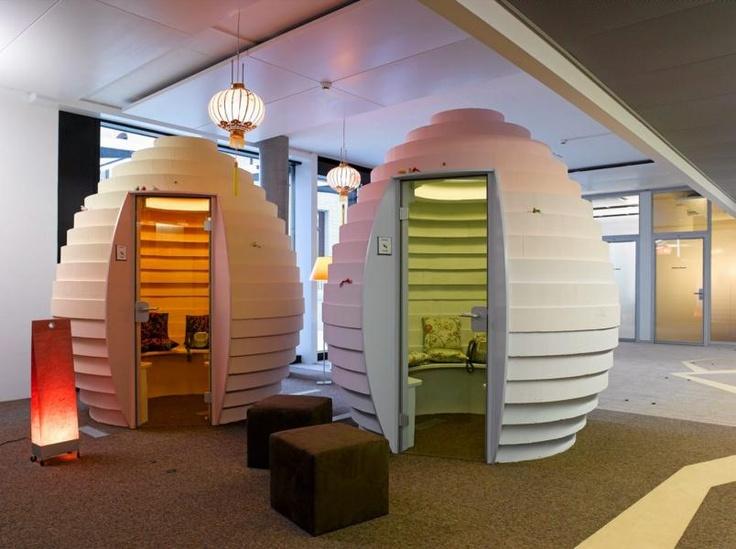 Googles kontor phone booths office design pinterest for Bbdo office design 9