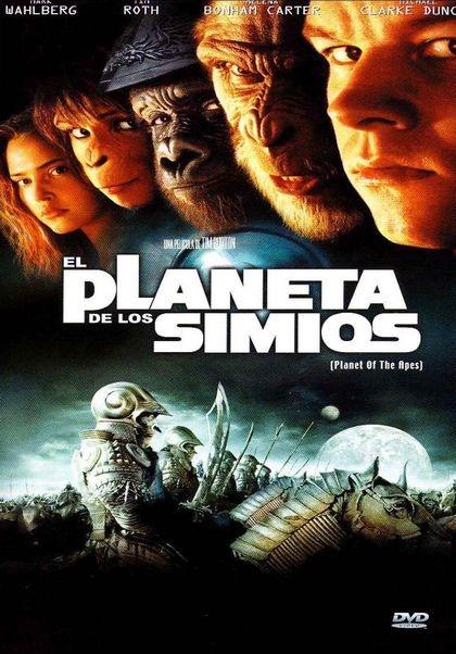 El planeta de los simios (2001) EEUU. Dir: Tim Burton. Ciencia ficción. Aventuras. Acción - DVD CINE 768