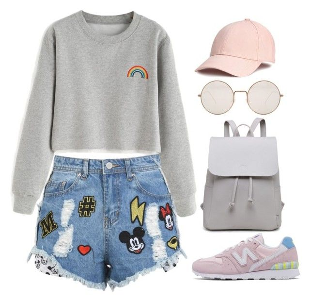 """521"" by jujju-w on Polyvore featuring moda, New Balance y Illesteva"
