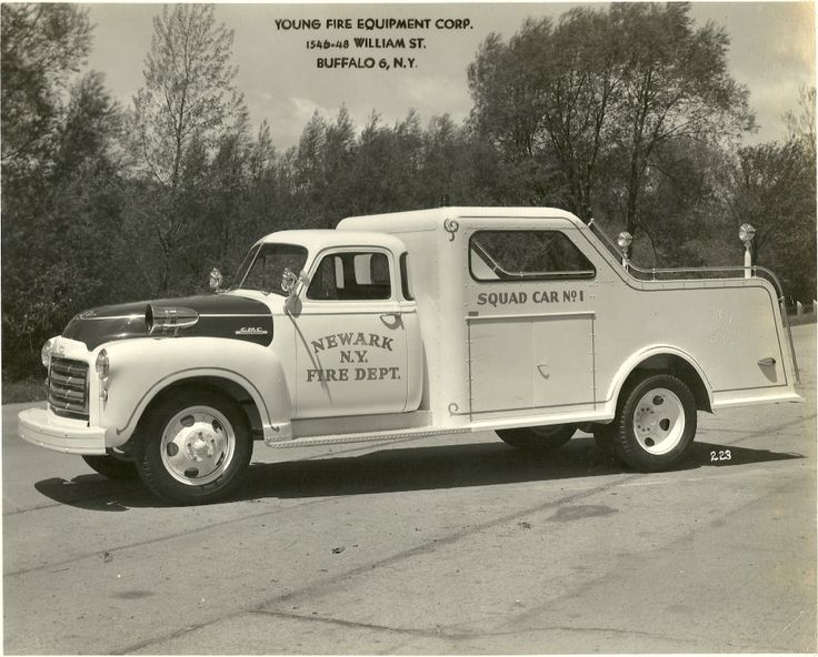 Young Fire Equipment Co 1951 GMC