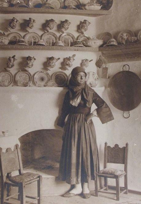 Cretan woman, 1927