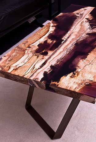Wood And Resin Furniture Project : VOLIS By Atelier Insolite Swiss Movie  Link : Https: