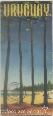 FOLLETO TURISTICO. URUGUAY A-FOTUR-0589 (Coleccionismo - Folletos de Turismo)