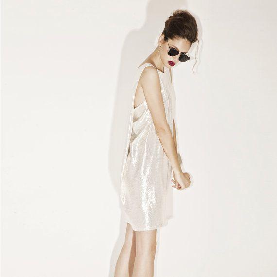 Speciale gelegenheid Womens jurken gouden jurk door BRANTattire