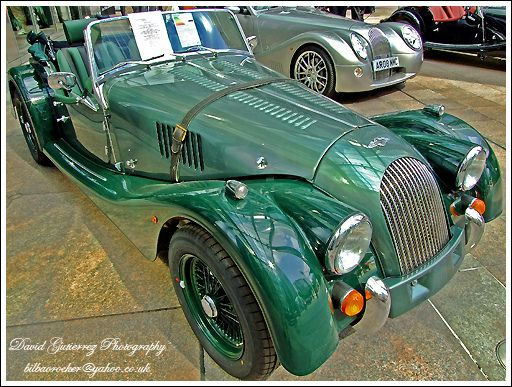 green morgan car london by david gutierrez photography via flickrcom