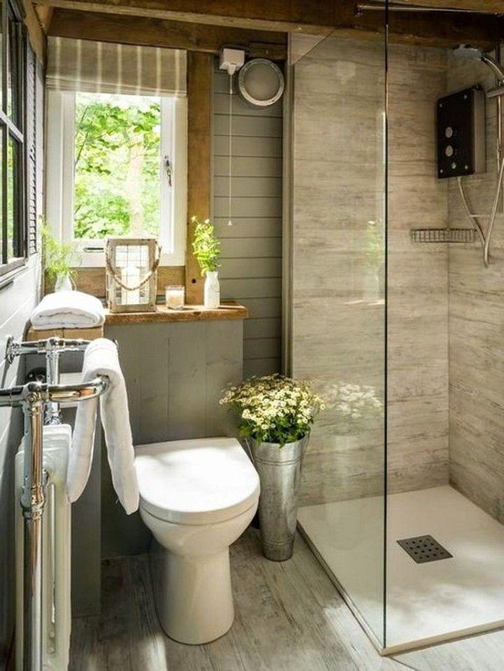 55 Cozy Small Bathroom Ideas For Your Remodel Project Cuded Banheiro Pequeno Simples Banheiro Estreito Banheiro Pequeno