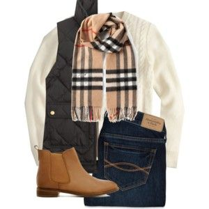B is for...burberry and booties!