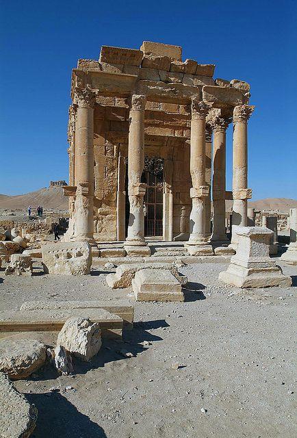 Temple of Ba'al-shamin, Palmyra, Syria by james_gordon_losangeles, via Flickr