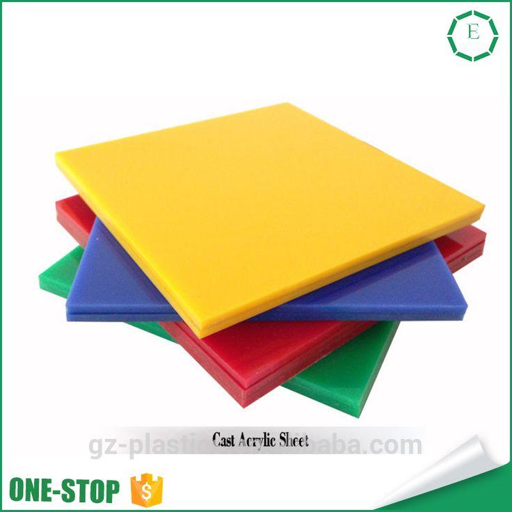 OEM professional plastic polyethylene nylon pvc sheet plate low price cell cast acrylic sheet