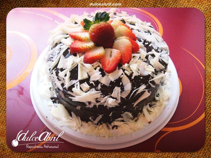 Torta doble chocolate.