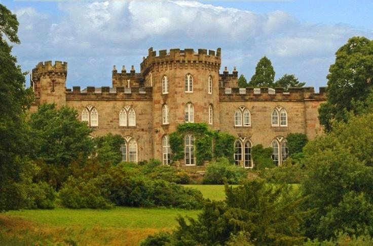 cholmondeley castle, malpas, cheshire