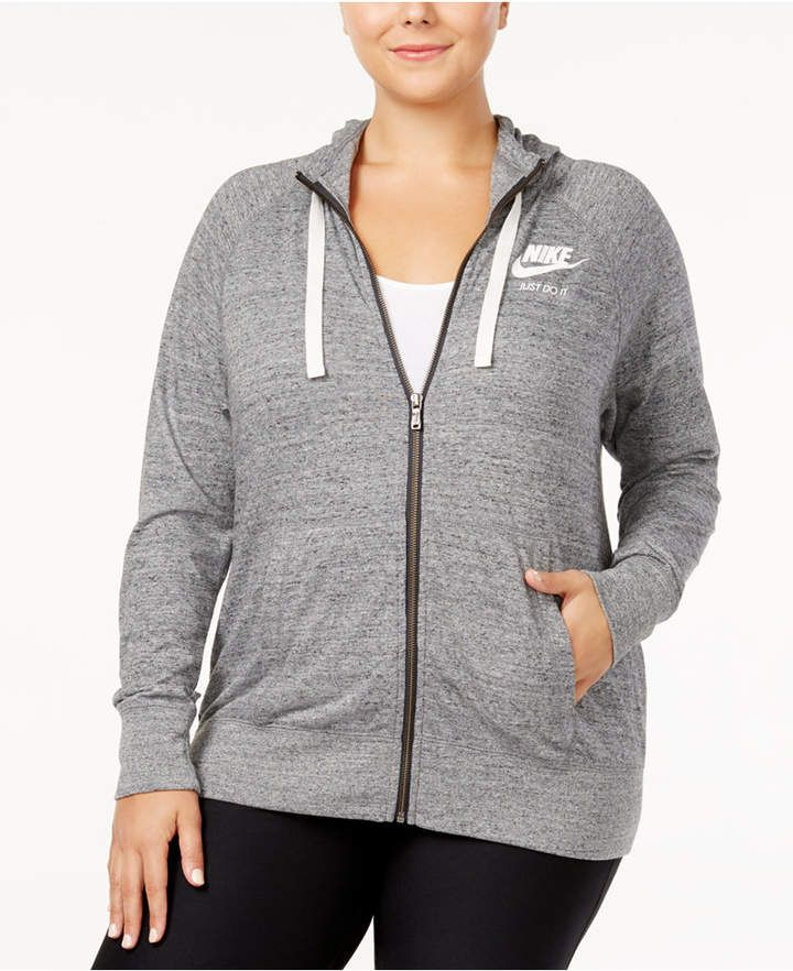 e426e64d4f926 Nike Plus Size Sportswear Gym Vintage Hoodie - Plus Sizes - Macy s