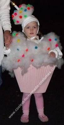 Homemade Cup Cake Halloween Costume                                                                                                                                                                                 More