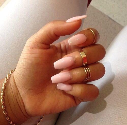 Neutral Tapered Nails Beauty Acrylic Nails Nails Stiletto Nails