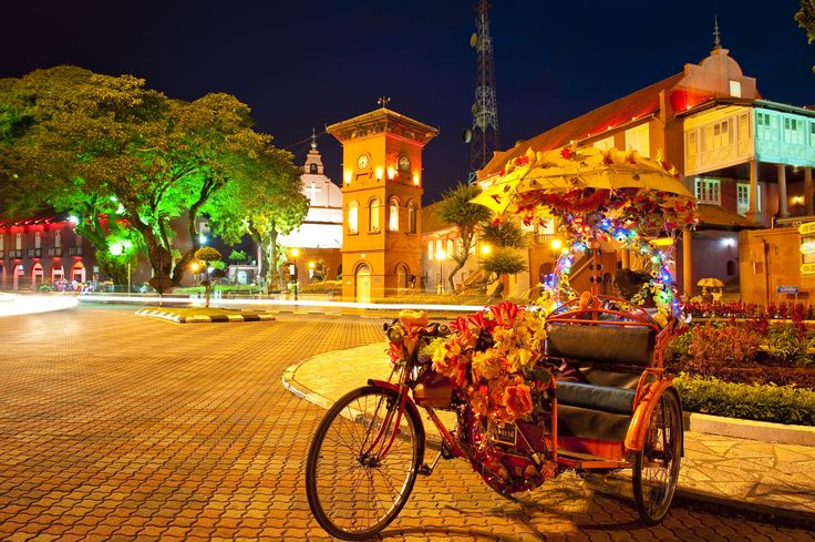 Malaysia - Malakka Fluss Festival hat begonnen