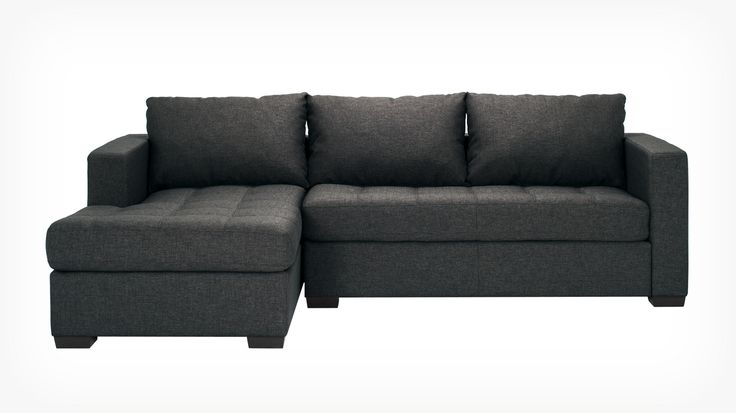 Porter 2 Piece Sectional Sofa With Chaise Fabric Eq3