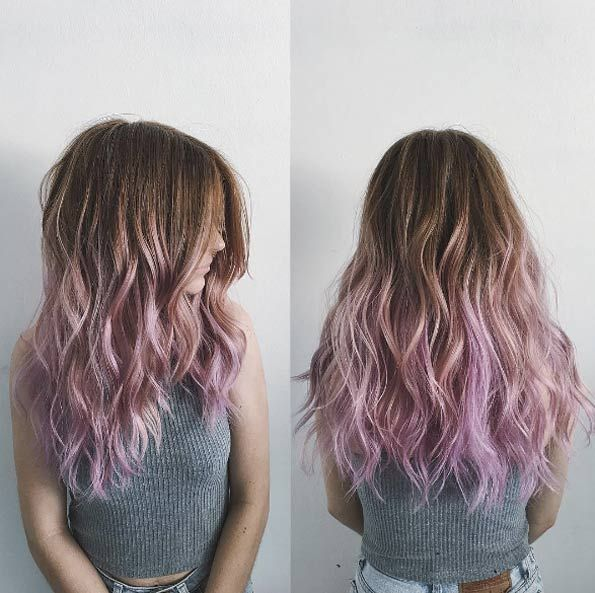 Lavender ombre by Dominick Serna