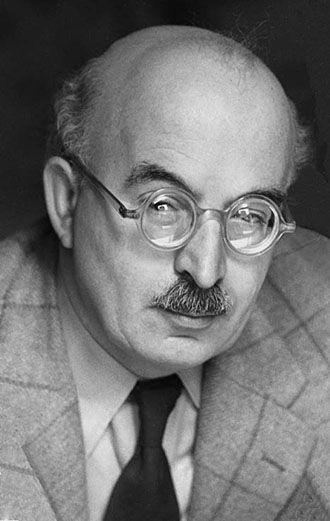 Portrait of Arnold Zweig