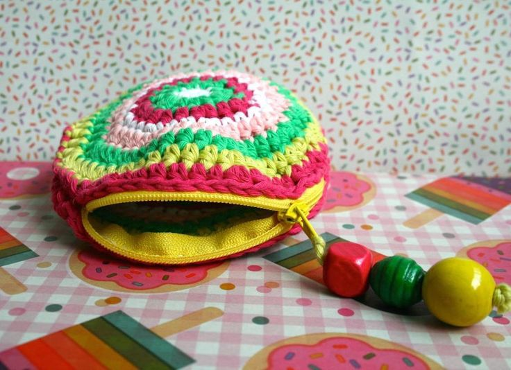 The 170 Best Crochet Coin Purse Images On Pinterest Coin Purses