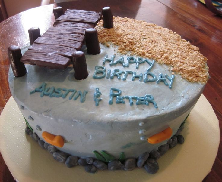 ... man cake !!! on Pinterest  Cakes, Fishing birthday cakes and Fishing