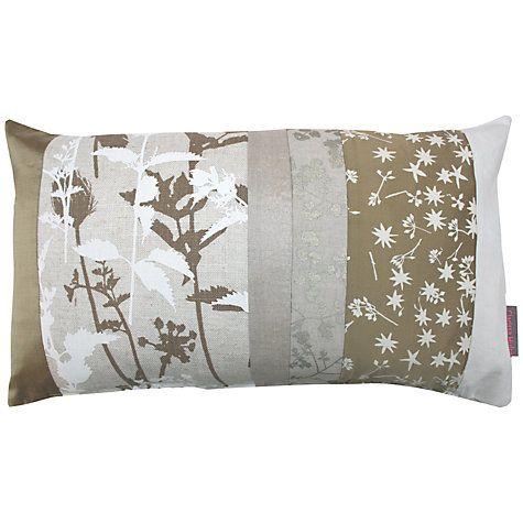 Buy Clarissa Hulse Nettles Patchwork Cushion Online at johnlewis.com