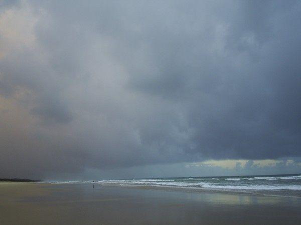 wir erreichten die Costa del Sol bei strömendem Regen  Vamos a la playa - E Book Manuela Martini
