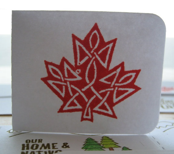 Celtic Maple Leaf by Stuffbysteph77