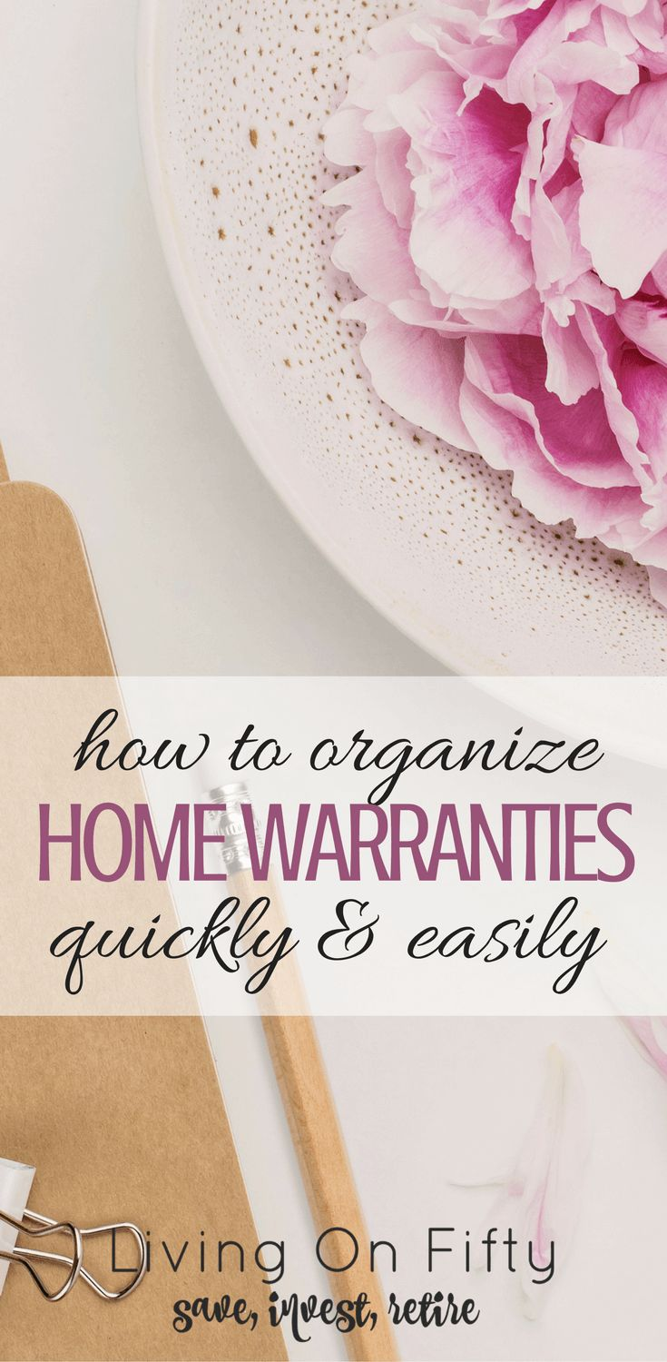 Today's project is super simple: how to organize warranties and manuals quickly and easily. It will feel so good not to have all of those loose papers laying around the house!