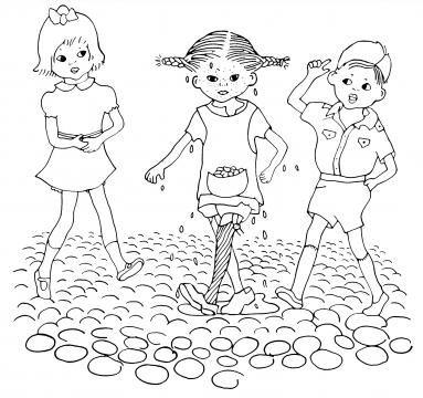 Pippi, Tommy och Annika