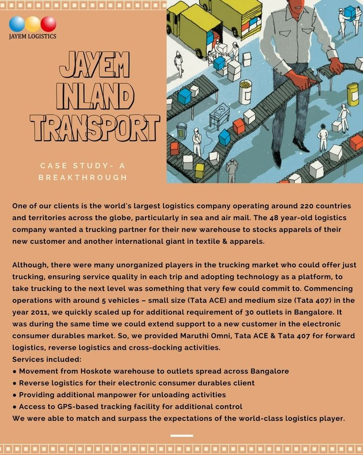 Jayem Inland Transport is a unit of Jayem Logistics, a