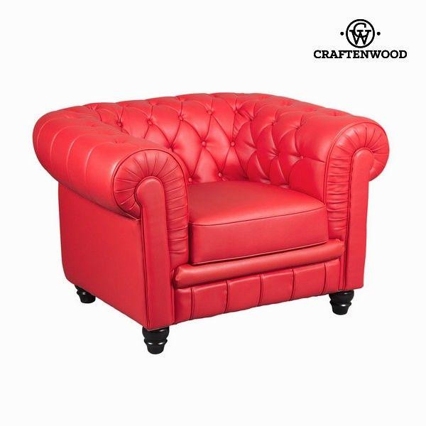 El mejor precio en Hogar 2017 en tu tienda favorita https://www.compraencasa.eu/es/butacones-mecedoras-sillones/65470-sofa-1-plaza-capitone-rojo-by-craftenwood.html