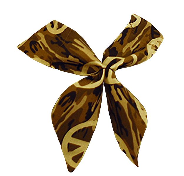 Peace Sign Camo Neck Wrap / Neck Tie online. Buy Today