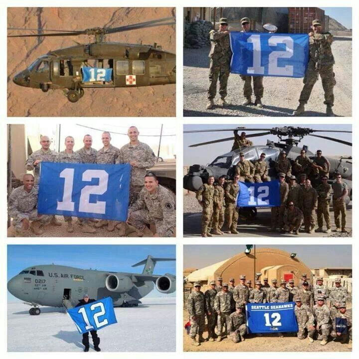 12 th man in the military!