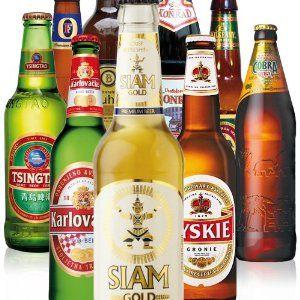 """Geschenk für die anstehende Hochzeitsreise """"Biere aus aller Welt"""""""