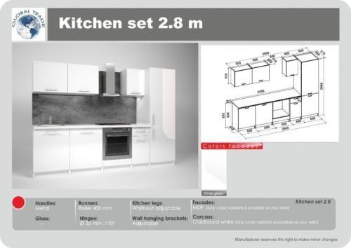 15 best moderne k chenzeilen images on pinterest. Black Bedroom Furniture Sets. Home Design Ideas