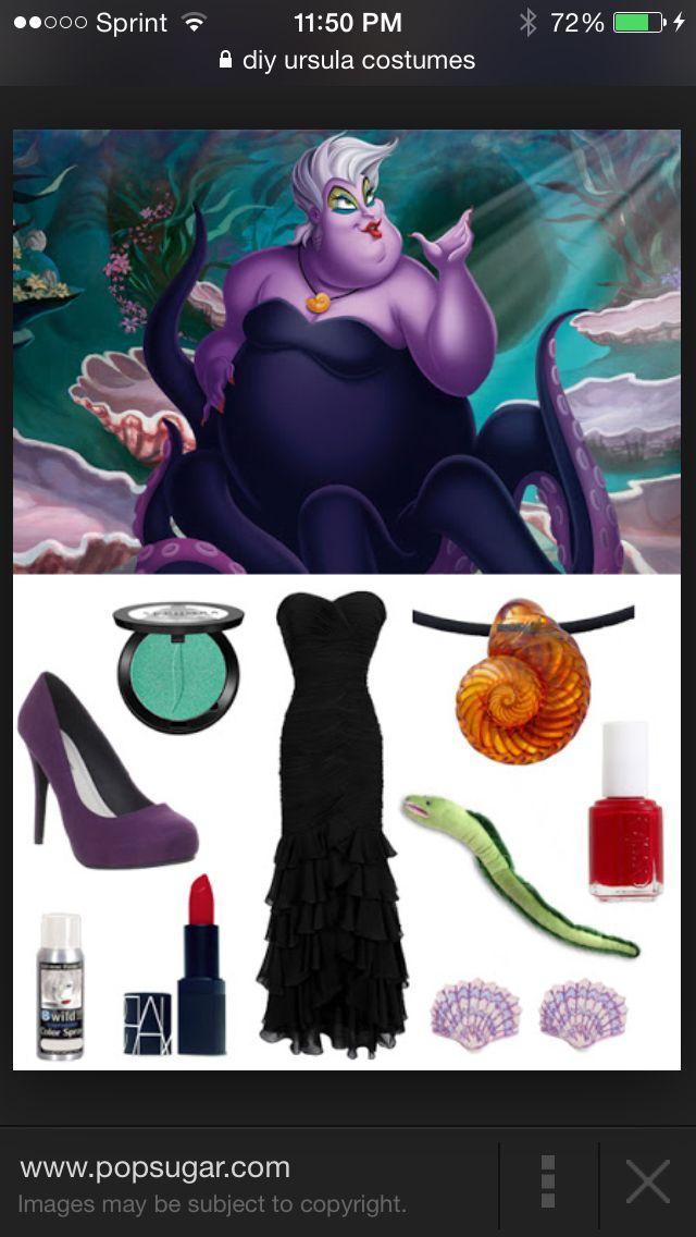 23 best ursula costume inspiration images on pinterest carnivals ursula costume idea solutioingenieria Image collections