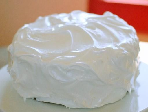 White Mountain Frosting.AKA Betty Crockers Homestyle Fluffy White Frosting
