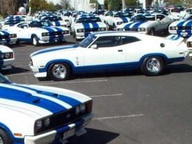 Ford Falcon XC Cobra's. Limited run of 400 made. Year I was born. Should buy one