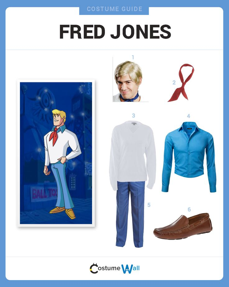 Dress Like Fred Jones from Scooby-Doo. See additional costumes and cosplays of Fred Jones.