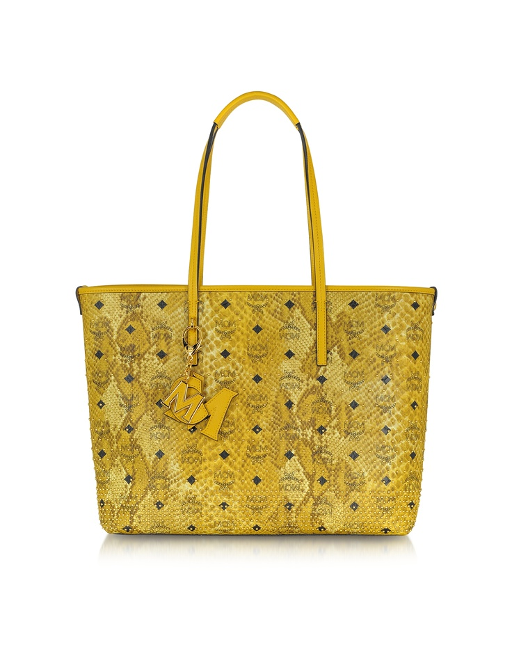 MCM Shopper Project - Animal Print Eco-Leather Tote   FORZIERI